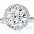 Alberts Round Engagement Ring
