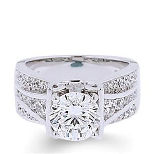 Arthur's Jewelers Engagement Ring