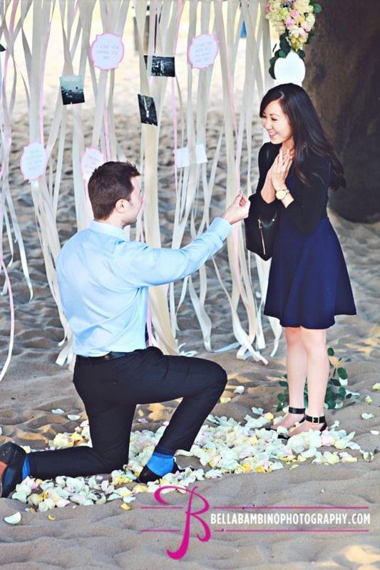 the strand house manhattan beach surprise marriage proposal