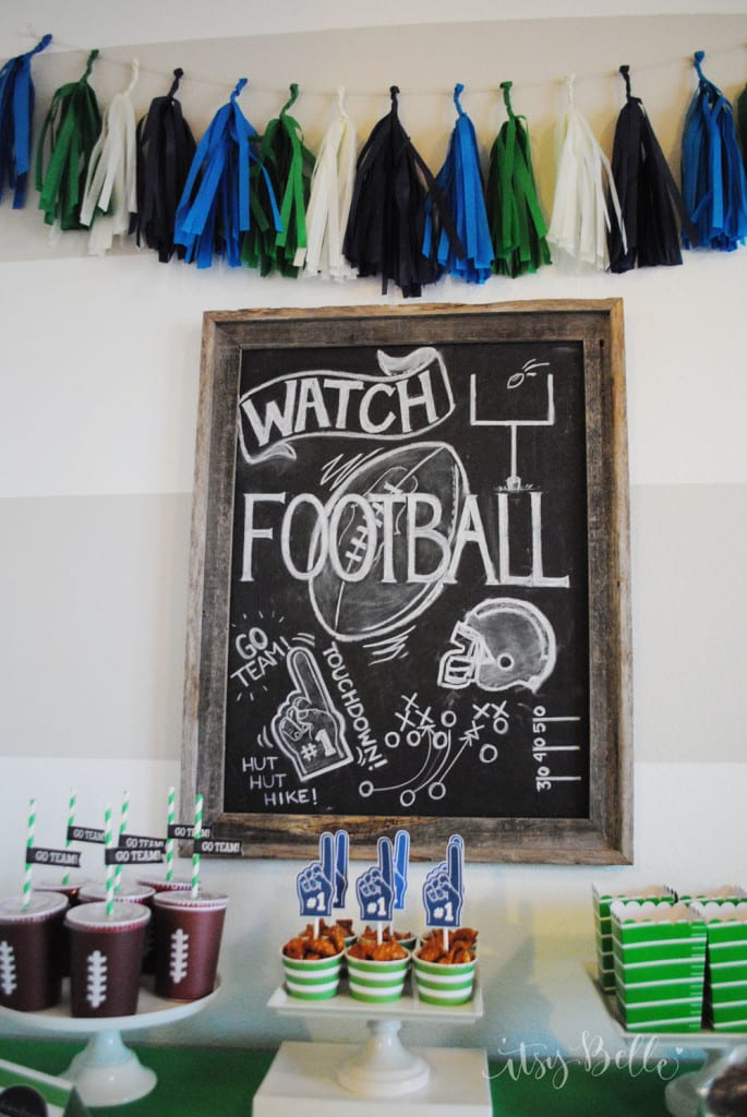 seahawks party decor