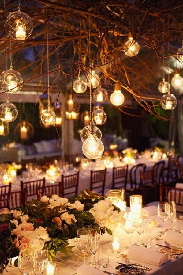 Romantic Lighting for Wedding