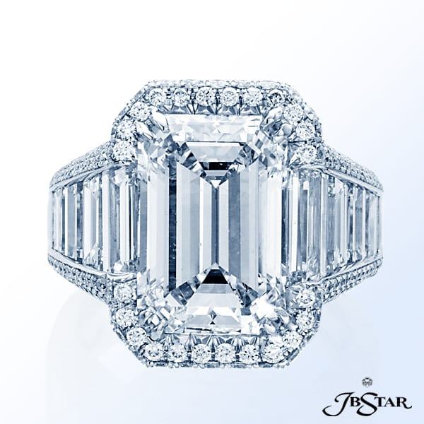 JB Star Emerald Ring