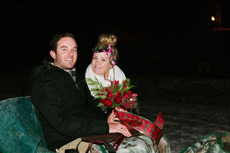 Winter Park City Utah Wedding Proposal