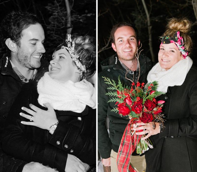 Winter Park City Utah Wedding Proposal