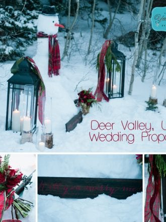 Deer Valley Marriage Proposal by The YES Girls Events