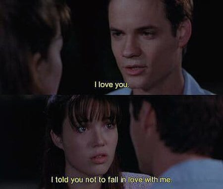 Movie Love Quotes The Yes Girls