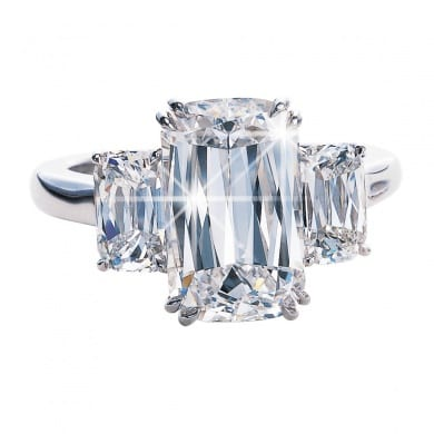 Ashoka Diamond Trilogy Ring