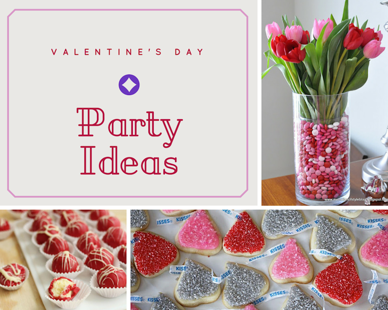 Party Ideas Decor and Food valentine's