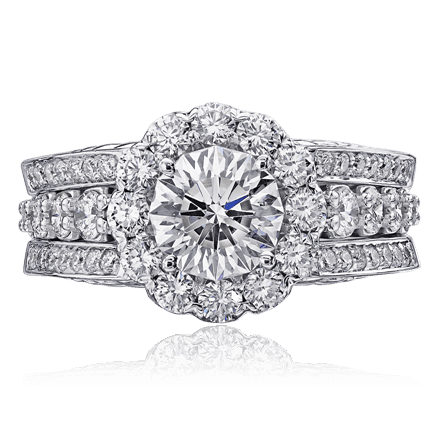 Christopher Designs Round Ring