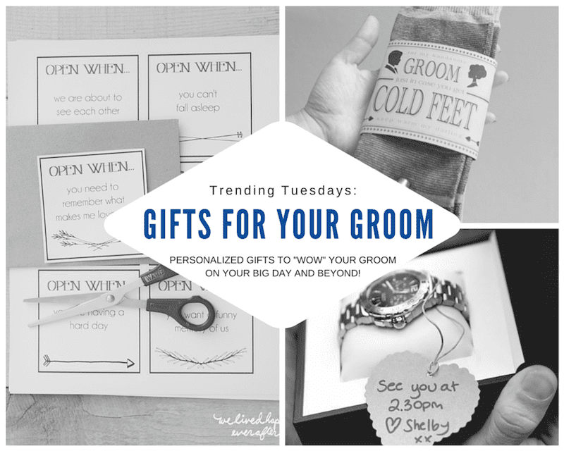 gift ideas for your groom