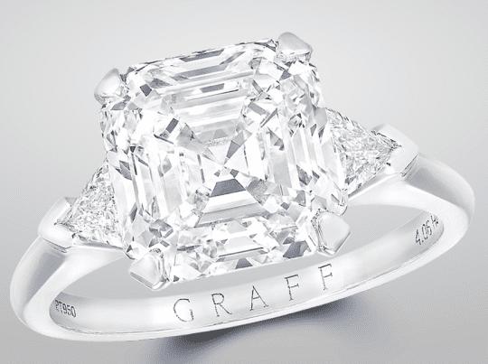 Graff Emerald Cut Ring