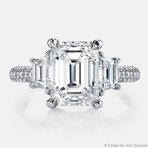 Jean Dousset Engagement Ring
