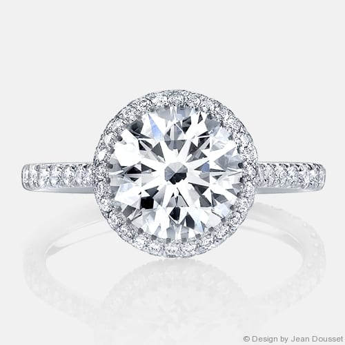 Jean Dousset Engagement Ring