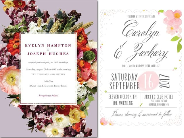 Spring 2015 Wedding Invite Ideas The Yes Girls