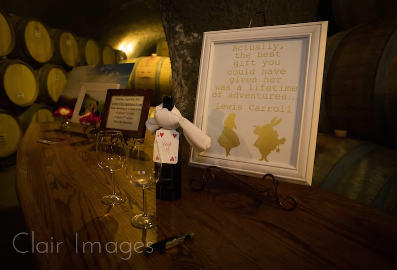 Alice in Wonderland quote frame