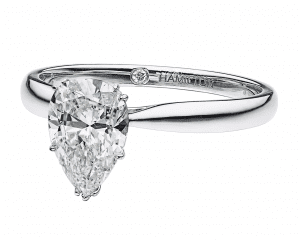 Hamilton Pear Engagement Ring