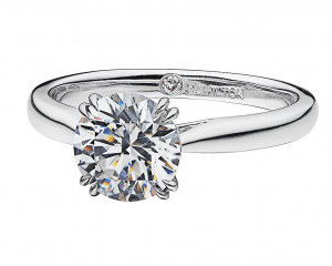 Hamilton Round Engagement Ring