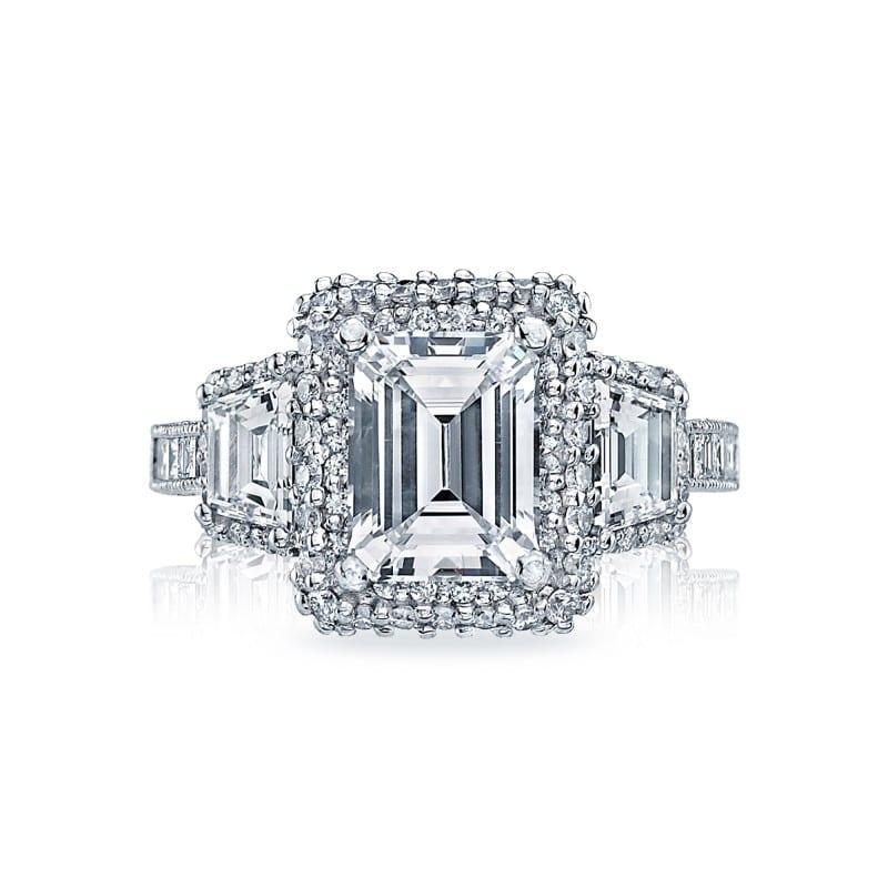 Tacori Emerald Engagement Ring