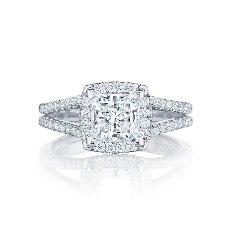 Tacori Princess Cut Engagement Ring