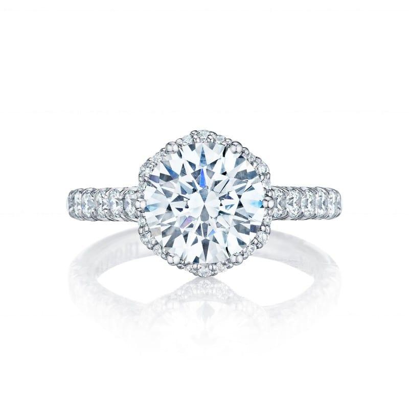 Tacori Round Engagement Ring
