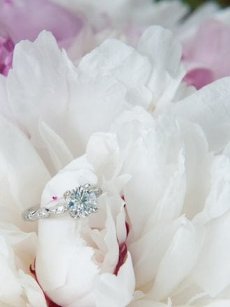 yes girls diamond engagement ring