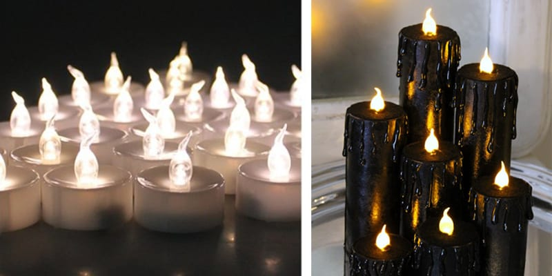 LED Candles For Weddings