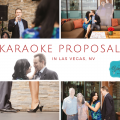 Singing Proposal in Las Vegas