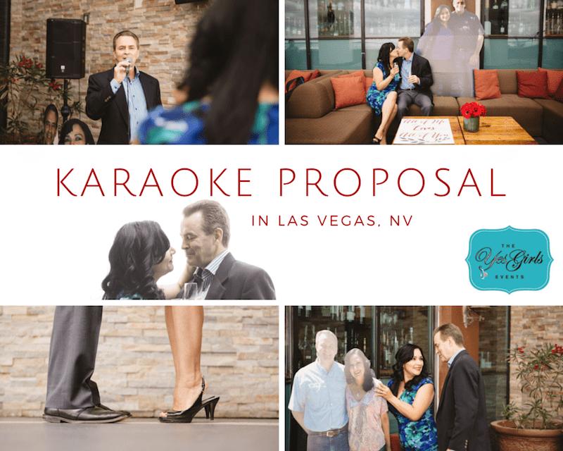 Singing Proposal in Las Vegas