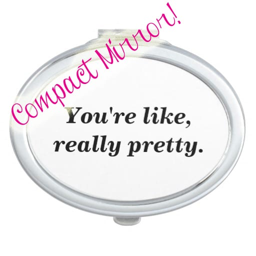 compact mirror gift