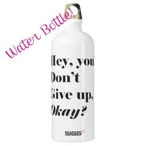 water bottle gift
