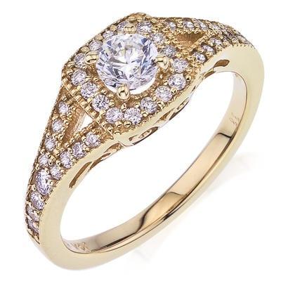 Camelot Bridal Engagement Ring