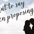how to pop the question