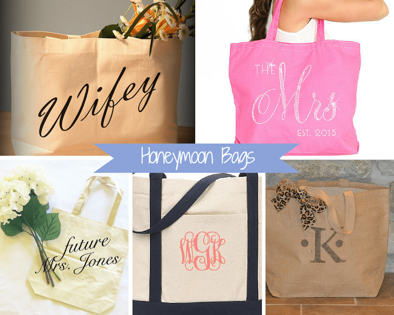 bags for a bride
