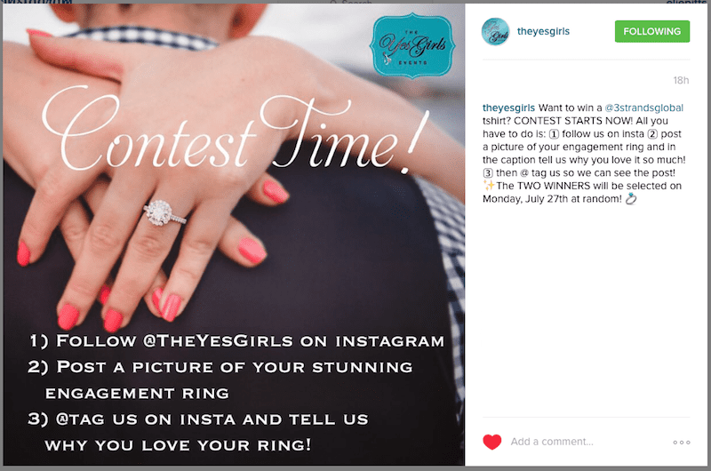 engagement ring contest