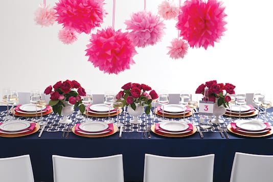 Navy blue color inspiration the yes girls for Navy blue and pink wedding