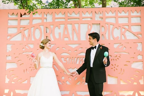 bride and groom personalized photobooth backdrop