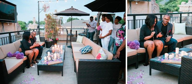 Dallas Rooftop Marriage Proposal2