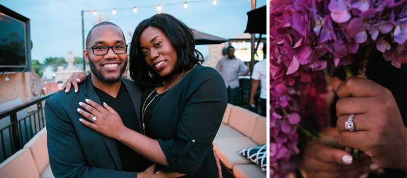 Dallas Rooftop Marriage Proposal3