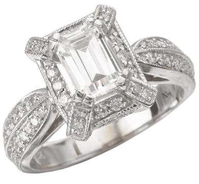 La Vie Engagement Ring