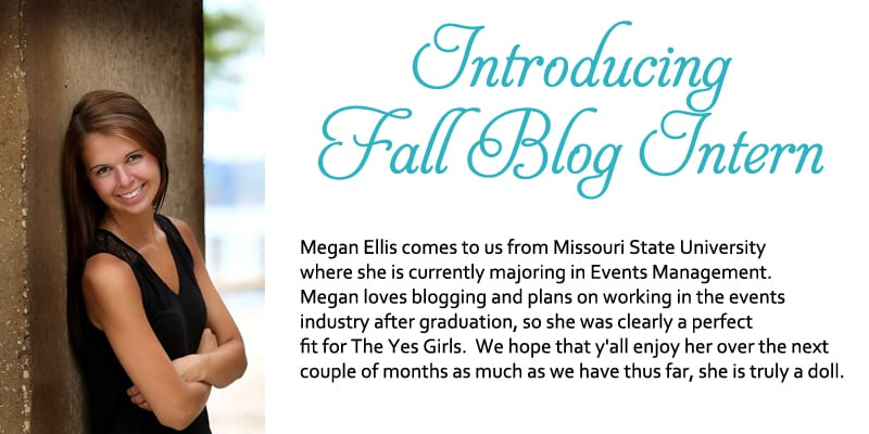 The YES Girls Events Fall 2015 Blog Intern