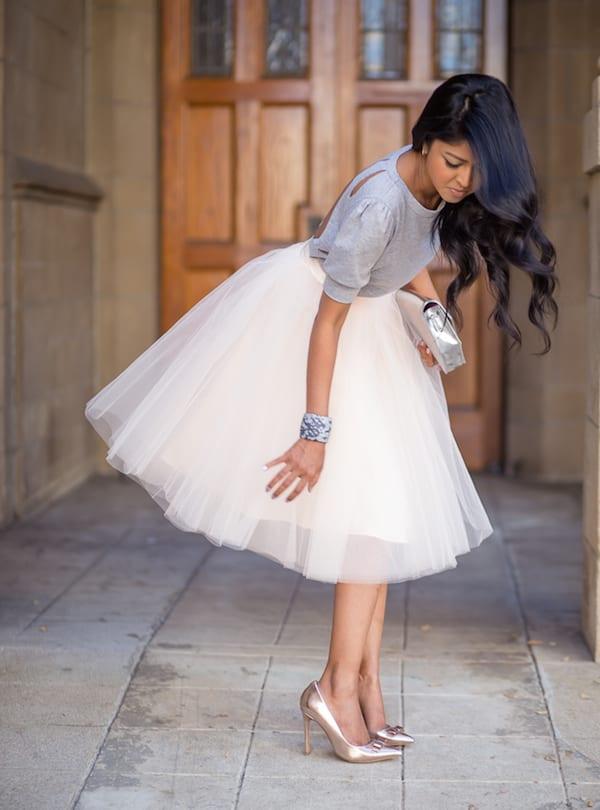 girly bride dress