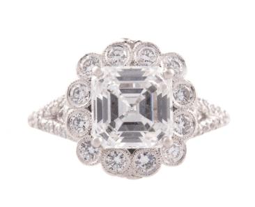 Erica Courtney Engagement Ring