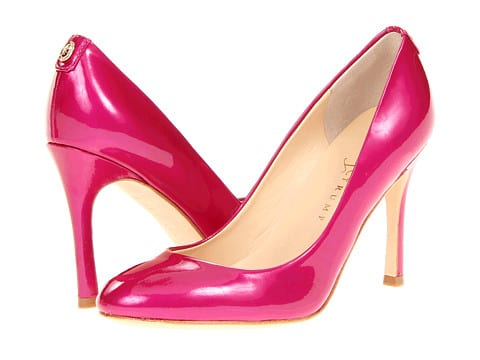 perfect pink bride shoes
