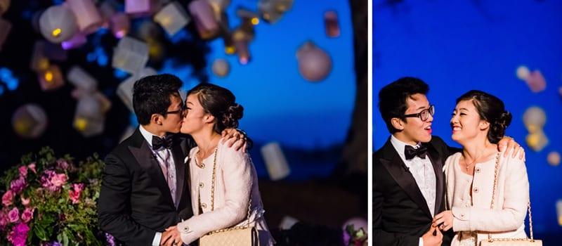 magical wedding proposal on san francisco shoreline