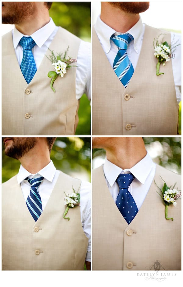 mismatch ties for groomsmen