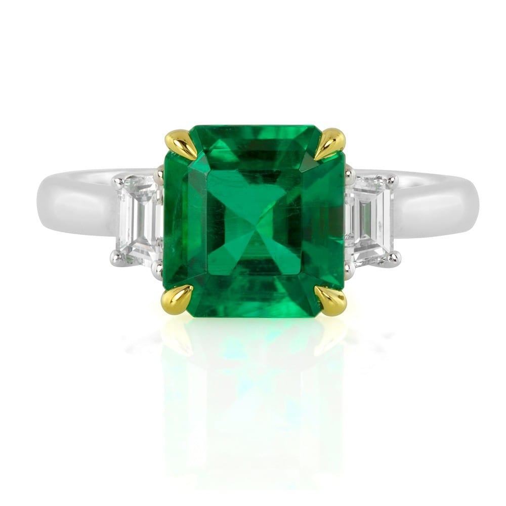 Diamond Envy Emerald Ring
