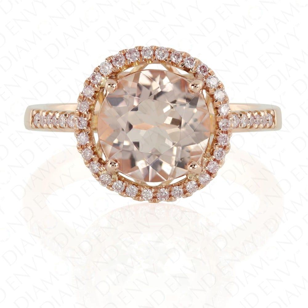 Diamond Envy Morganite Ring