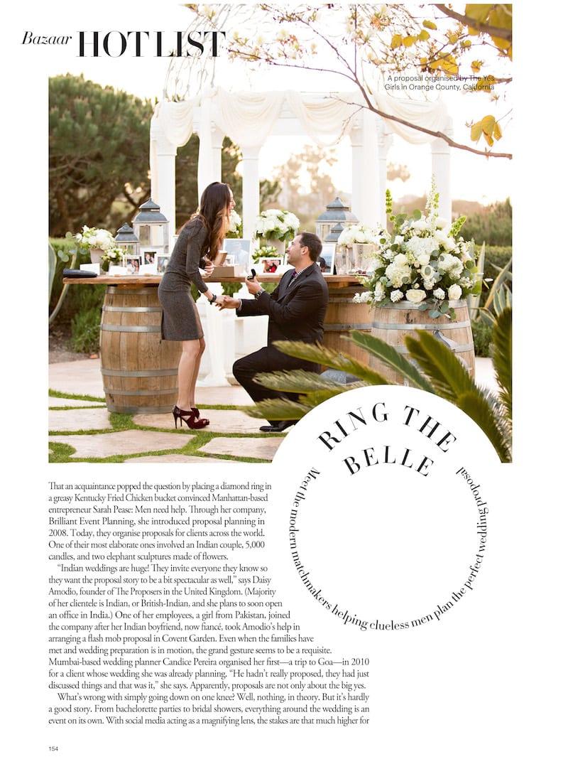 Harper's Bazaar Magazine Article