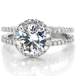 Knox Jewelers Split Shank Ring