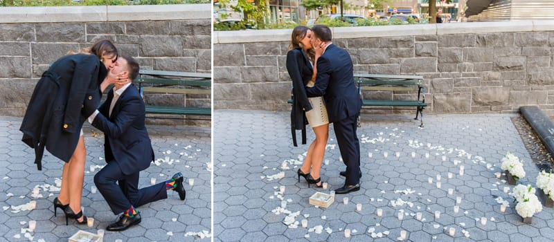 Batter Park Marriage Proposal